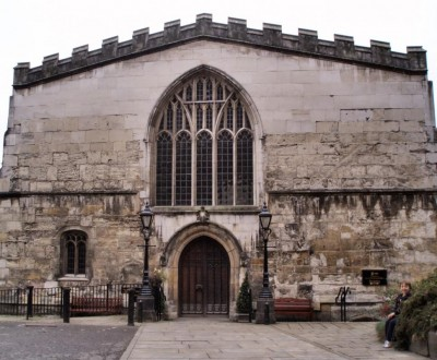 York's guildhall was a relatively new building during Richard III's reign, having been completed by 1459